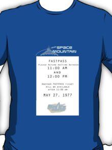 Space Mountain Fastpass T-Shirt