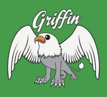 Griffin With Title Kids Tee