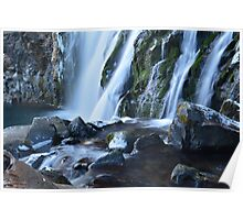 Middle McCloud Falls Poster