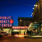 Pike Place Market by Inge Johnsson