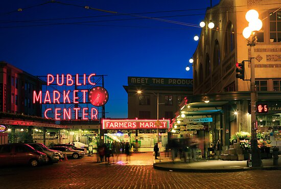 Pike's Place Market by Inge Johnsson