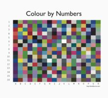 Colour by Numbers by David Burren