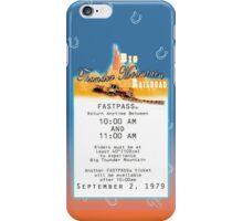 Thunder Mountain- Fastpass (#2) iPhone Case/Skin
