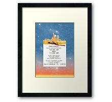 Thunder Mountain- Fastpass (#1) Framed Print