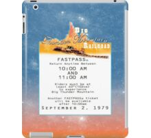 Thunder Mountain- Fastpass (#1) iPad Case/Skin