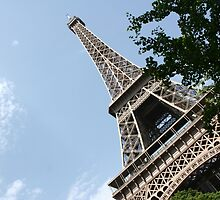 Eiffel Tower by Margybear