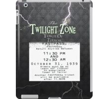 The Tower of Terror- Fast Pass iPad Case/Skin