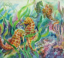 Seahorse Quartet by Deborah Younglao