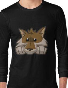 Animal Jam Wolf Plushie Long Sleeve T-Shirt
