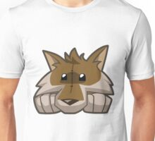 Animal Jam Wolf Plushie Unisex T-Shirt