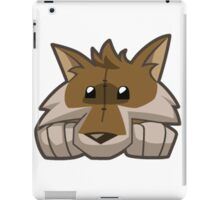 Animal Jam Wolf Plushie iPad Case/Skin