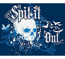 Spit it Out Photographic Print
