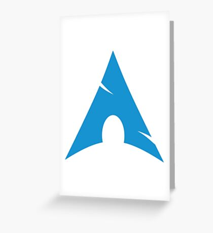 Arch Linux Mug Greeting Card