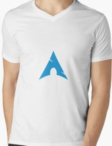 Arch Linux Mug Mens V-Neck T-Shirt