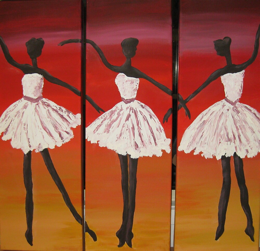 Three Dancers by macl