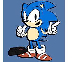 Sonic - 2015 SEGABits Design Photographic Print