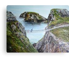 The Rope Bridge Canvas Print