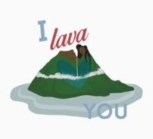 I Lava You One Piece - Short Sleeve