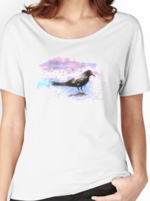 Crow In A Puddle Women's Relaxed Fit T-Shirt