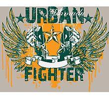 Urban Fighter Photographic Print