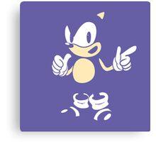 Sonic - 2015 SEGABits Design - Blend Ver Canvas Print