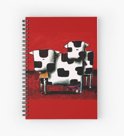 Baby Bull Production Spiral Notebook