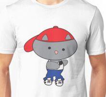 Rapper Cat in Tank Top Unisex T-Shirt