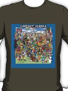 Cartoon Heros T-Shirt