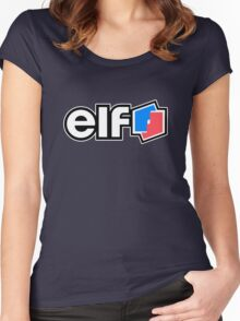 Vintage elf Women's Fitted Scoop T-Shirt