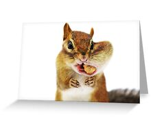 Would you have a smaller peanut?... Greeting Card
