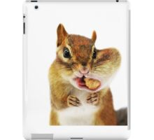 """WOULD YOU HAVE a smaller PEANUT?..."" iPad Case/Skin"