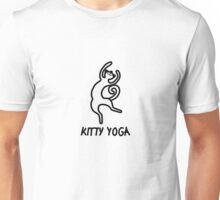 Kitty yoga 4 Unisex T-Shirt