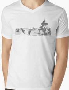 Hometown#1 Mens V-Neck T-Shirt
