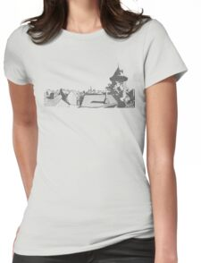 Hometown#1 Womens Fitted T-Shirt