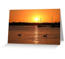 Synchronicity, Paynesville, Victoria Greeting Card
