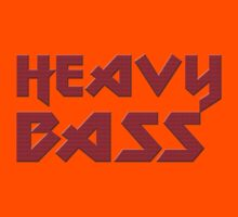 Heavy Bass T-Shirt - I Love Bass Music Top Kids Clothes