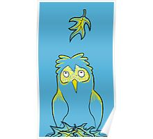 Silly Owl Poster
