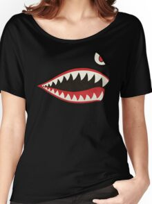 Flying Tigers Nose Art Women's Relaxed Fit T-Shirt
