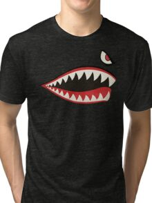 Flying Tigers Nose Art Tri-blend T-Shirt