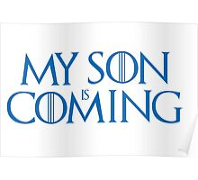 Son is coming Poster