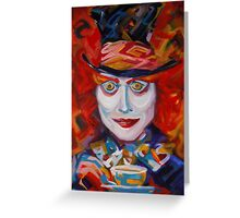 Mad Hatter Greeting Card