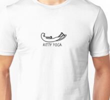 Kitty yoga 2 Unisex T-Shirt