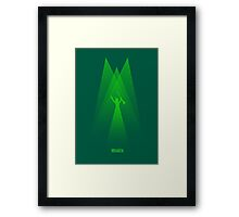 Wicked - Elphaba's Defying Gravity Framed Print