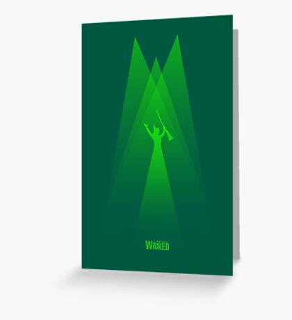 Wicked - Elphaba's Defying Gravity Greeting Card