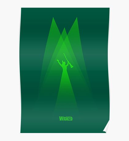 Wicked - Elphaba's Defying Gravity Poster