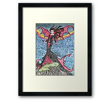 Psychedelic LZ Framed Print