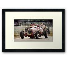 1935 Alfa Romeo Vintage Racecar Framed Print
