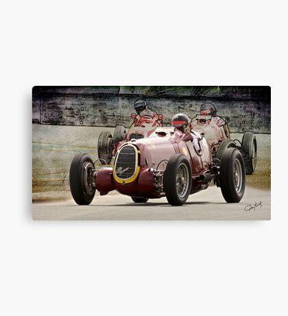 1935 Alfa Romeo Vintage Racecar Canvas Print