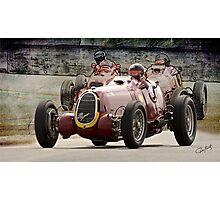 1935 Alfa Romeo Vintage Racecar Photographic Print