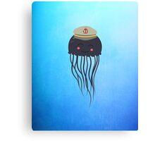 Jellyfish Sailor  Canvas Print